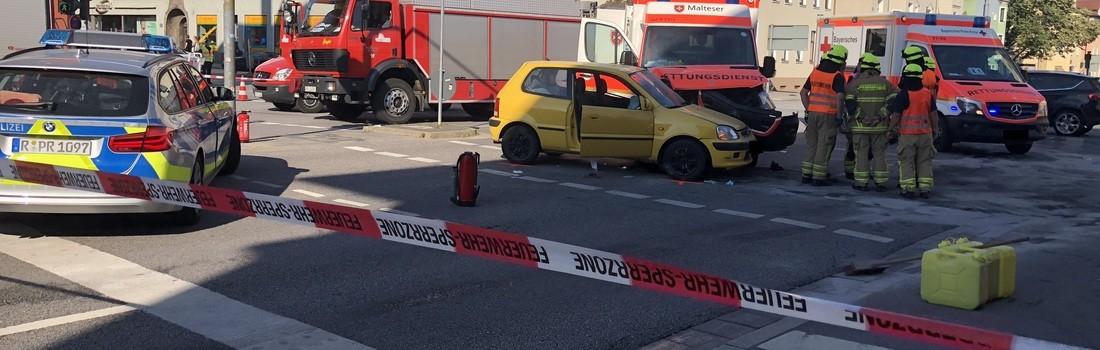 Polizeibericht Regensburg Unfälle