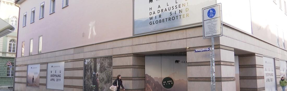 3ecfc7c147f5e4 Regensburger Altstadt  Globetrotter löst ehemalige s.Oliver-Filiale in  Maximilianstraße ab