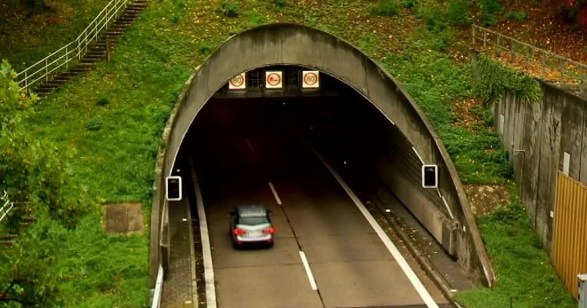 Pfaffensteiner Tunnel Gesperrt