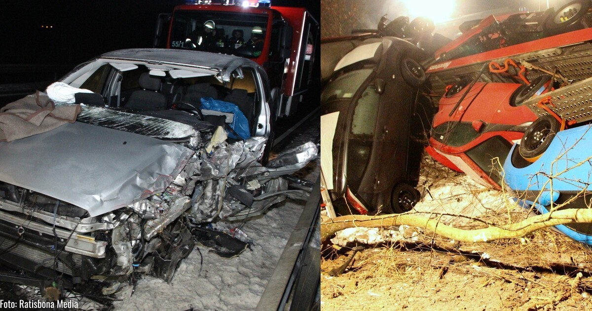 Unfall B20 Cham Heute