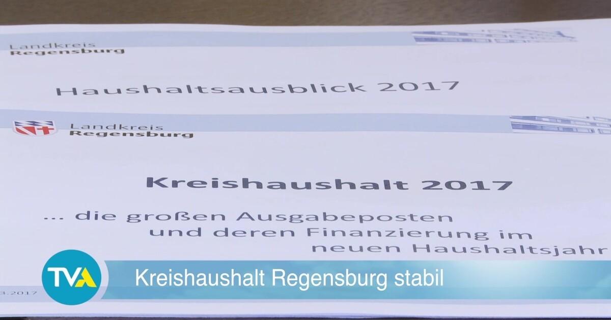 landkreis regensburg kreishaushalt 2017 vorgestellt tva. Black Bedroom Furniture Sets. Home Design Ideas