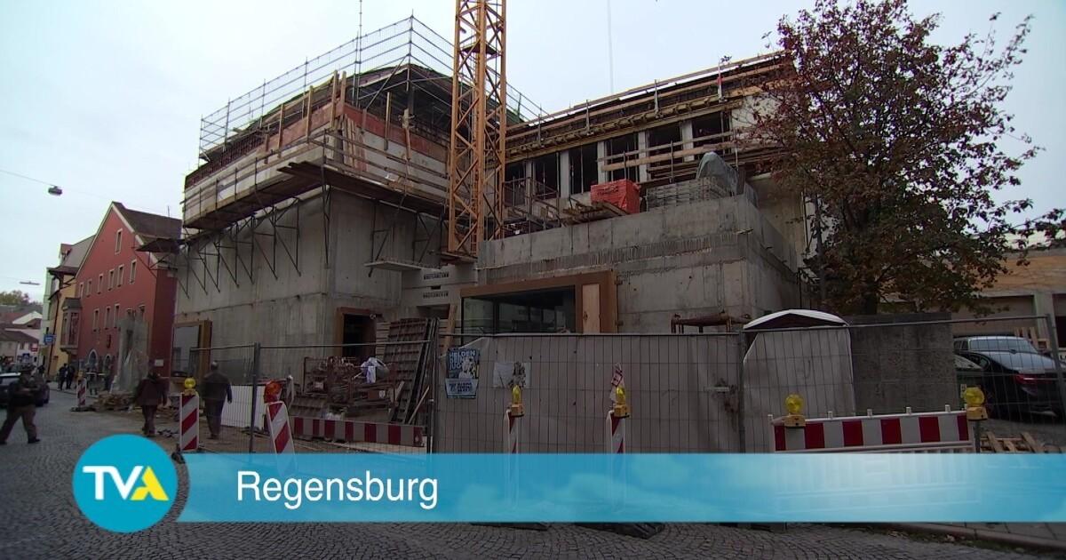 neue synagoge regensburg mehrkosten von euro tva. Black Bedroom Furniture Sets. Home Design Ideas