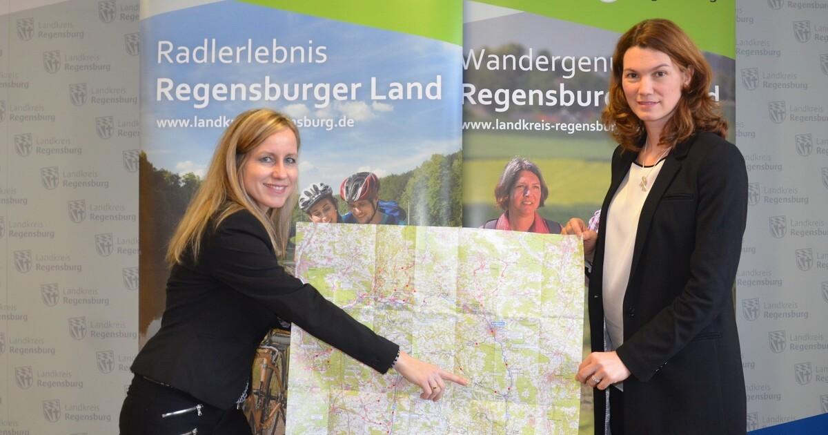 landkreis regensburg neue radkarte zum f nf fl sse radweg erschienen tva. Black Bedroom Furniture Sets. Home Design Ideas