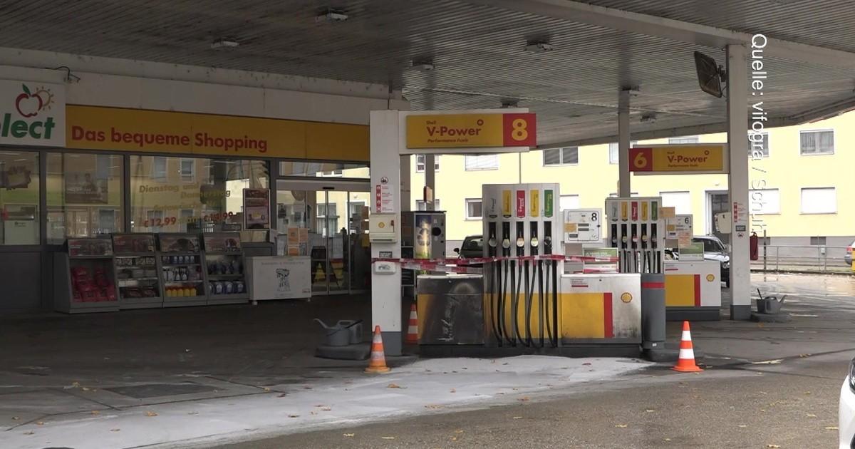 Regensburg Tankstelle