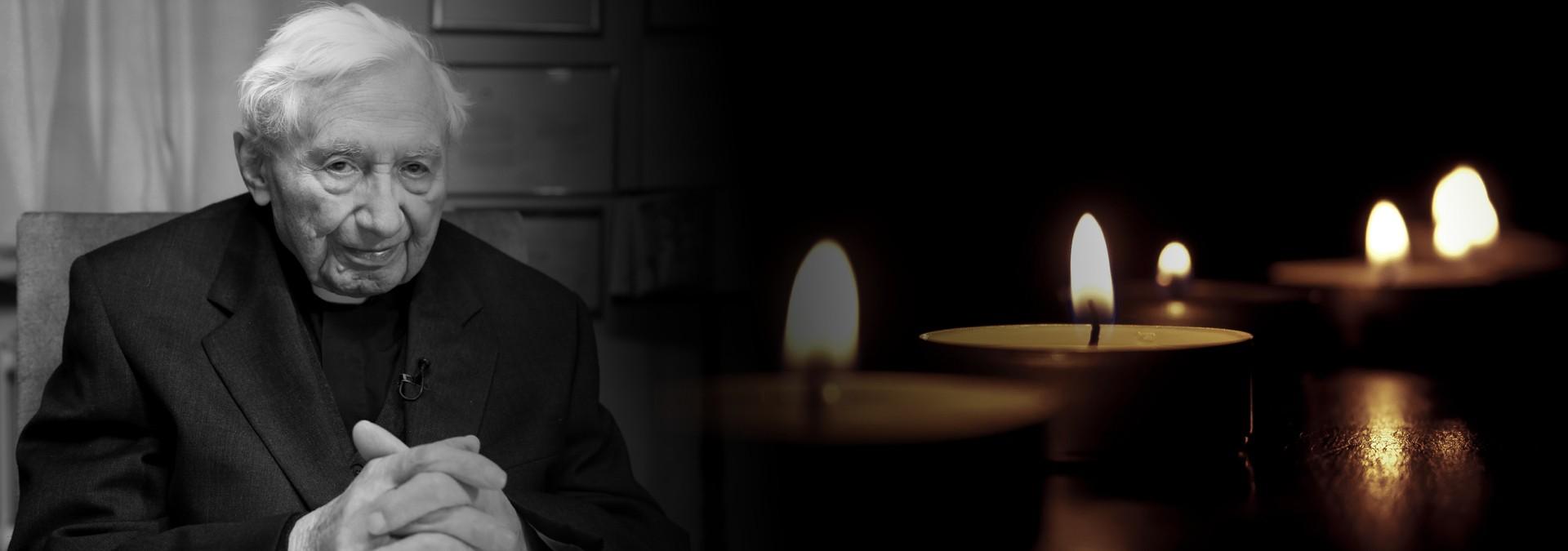 Georg Ratzinger gestorben