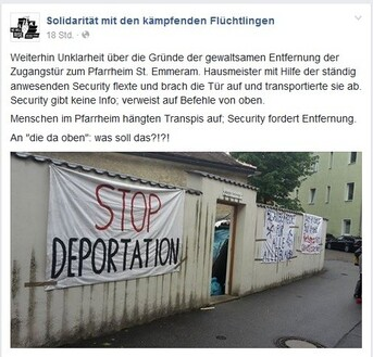 © https://www.facebook.com/refugeesregensburg/