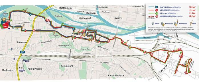 © Veranstalter LLC Marathon Regensburg e.V.