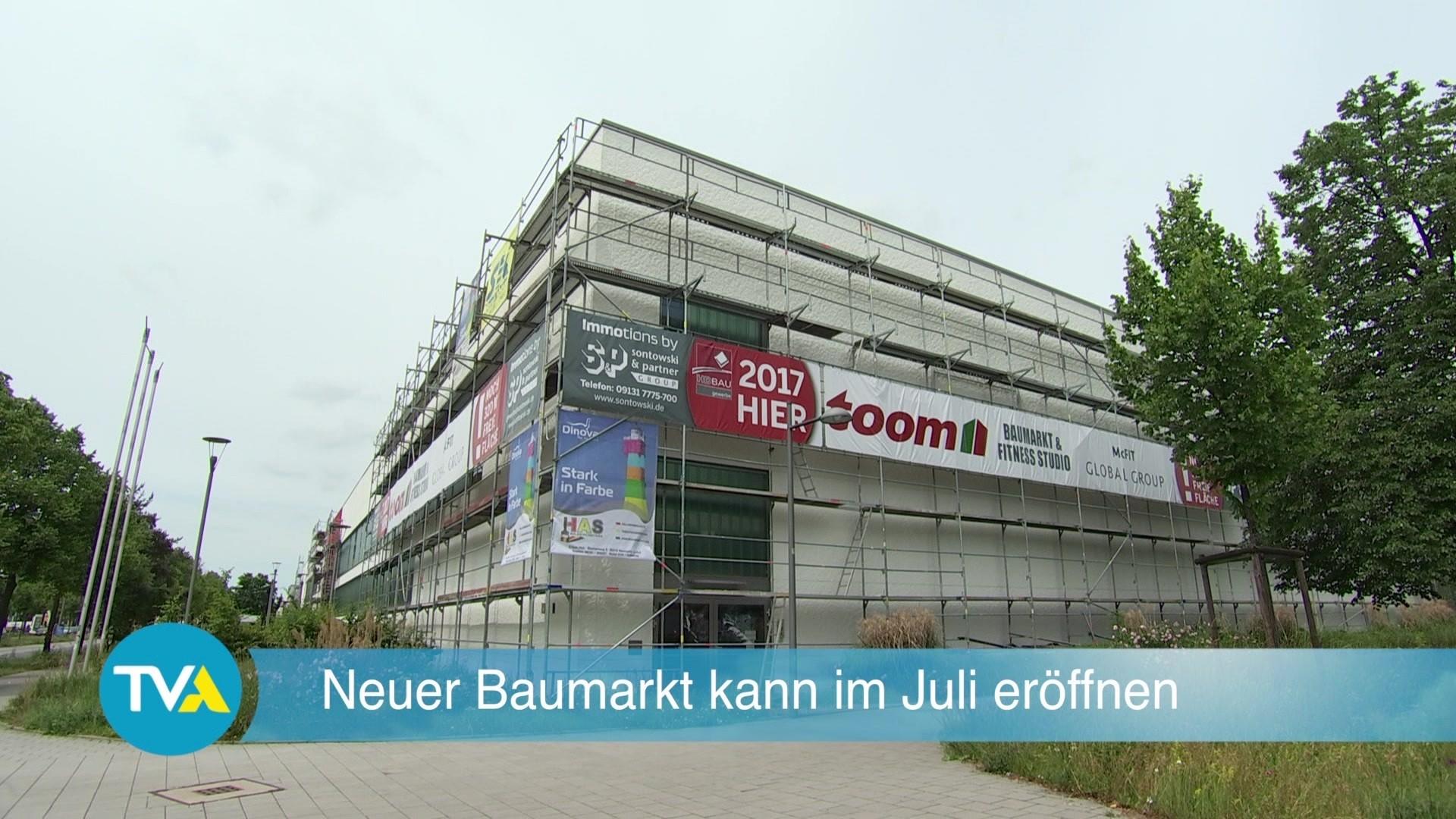 Baumarkt Regensburg regensburg neuer baumarkt eröffnet im juli tva